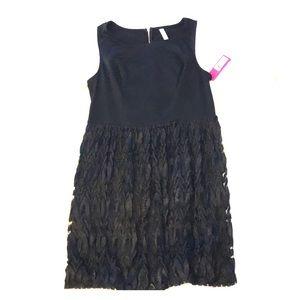 Black mini dresss
